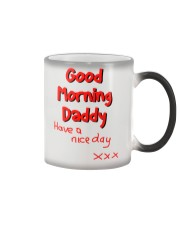 Good Morning Daddy - colour changing mug Color Changing Mug color-changing-right