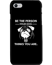 BE THE PERSON YOUR DOG THINKS YOU ARE - KINGSMAN Phone Case thumbnail