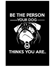 BE THE PERSON YOUR DOG THINKS YOU ARE - KINGSMAN Vertical Poster tile
