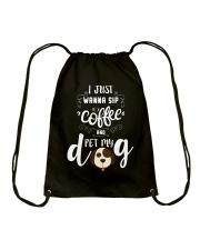 Dog T-shirts Drawstring Bag thumbnail