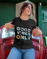 Good vibes only Ladies T-Shirt apparel-ladies-t-shirt-lifestyle-01