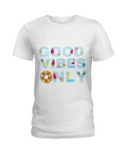 Good vibes only Ladies T-Shirt tile