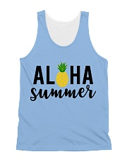 Aloha Summer All-over Unisex Tank front