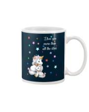 I love you more than all the stars Unicorn Mom kid Mug thumbnail