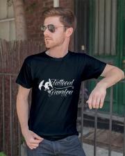 Grandparents Grandpa Tattooed Grandpa 2 Classic T-Shirt lifestyle-mens-crewneck-front-2