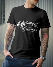 Grandparents Grandpa Tattooed Grandpa 2 Classic T-Shirt lifestyle-mens-crewneck-front-6