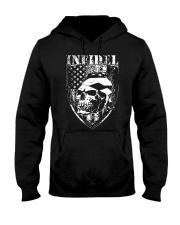 Gun Right Infidel Skull Do Rag Hooded Sweatshirt thumbnail