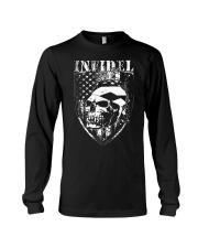 Gun Right Infidel Skull Do Rag Long Sleeve Tee thumbnail