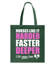 Nurse CPR Saves Lives Tote Bag thumbnail