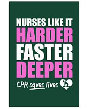 Nurse CPR Saves Lives Vertical Poster tile