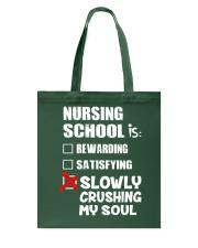 Nurse - Nursing School Tote Bag thumbnail