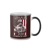 Veteran - Child of God Color Changing Mug thumbnail