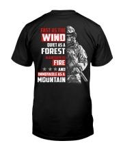 Veteran - Fast Classic T-Shirt back