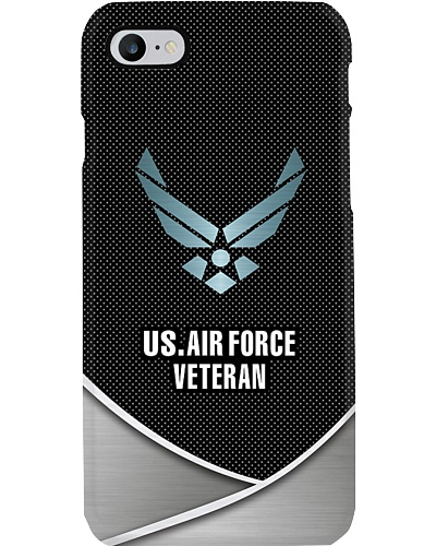 US Air Force Veteran phone case
