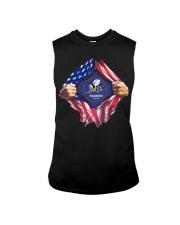 Flag Torn Seabee shirt Sleeveless Tee thumbnail