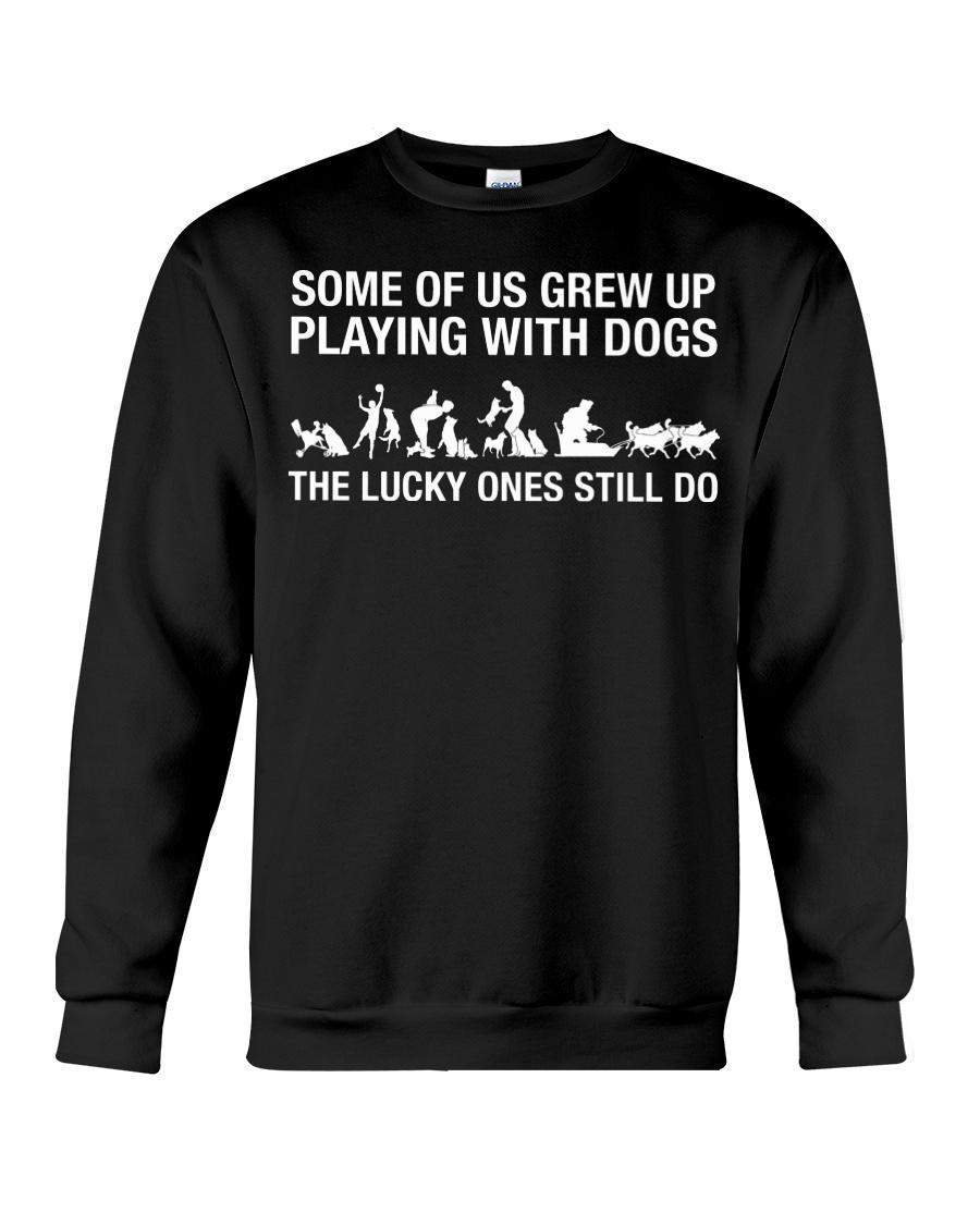 Awesome Shirt For Dog Sledding Lover Crewneck Sweatshirt