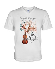 Every Little Thing Is Gonna Be Alright 1 V-Neck T-Shirt thumbnail