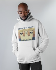 Come Te Llamas Hooded Sweatshirt apparel-hooded-sweatshirt-lifestyle-front-09