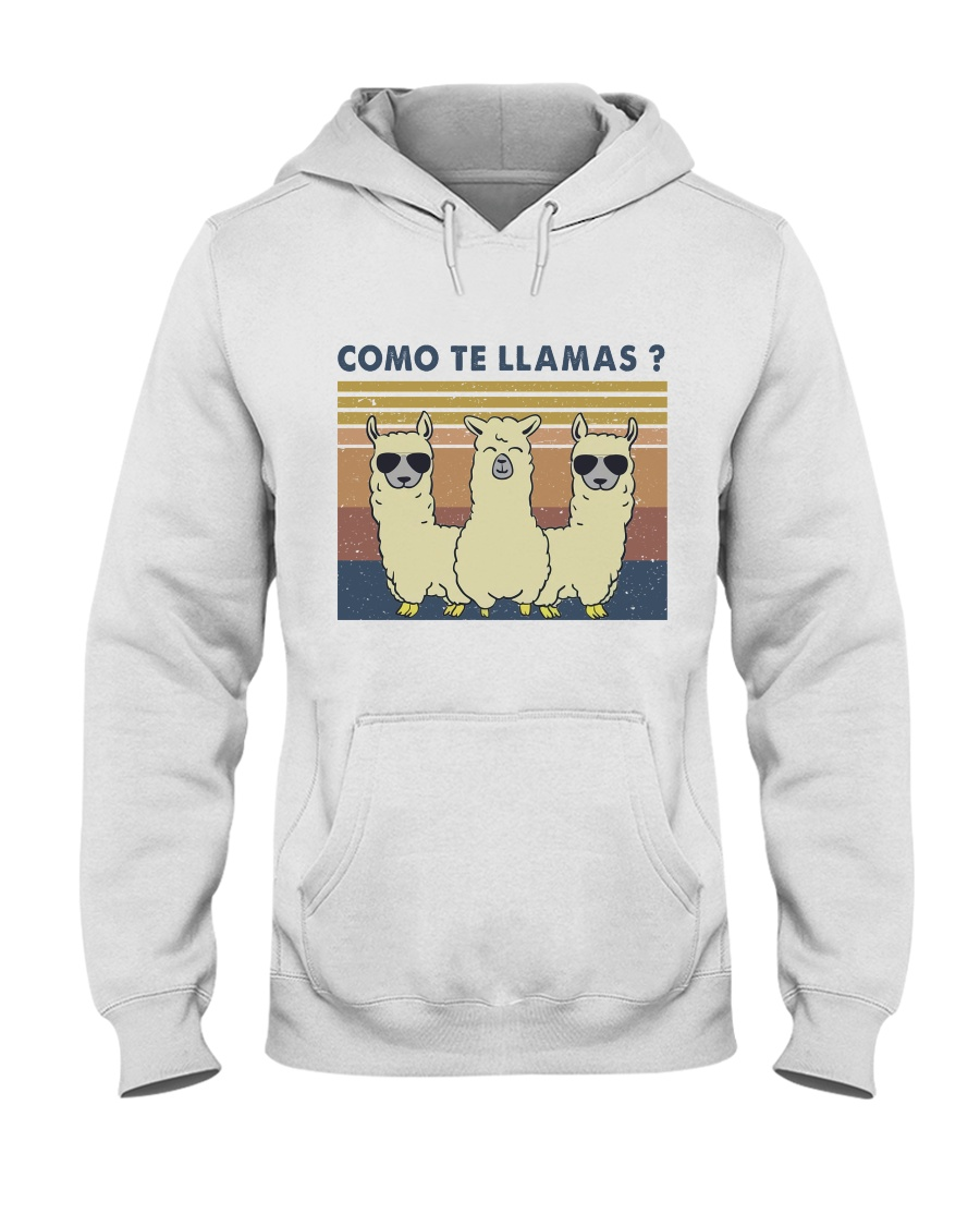 Come Te Llamas Hooded Sweatshirt