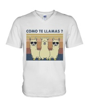 Come Te Llamas V-Neck T-Shirt thumbnail