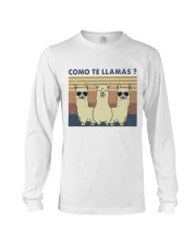 Come Te Llamas Long Sleeve Tee thumbnail
