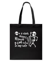On A Dark Desert Tote Bag thumbnail