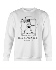 Only Rock And Roll Crewneck Sweatshirt thumbnail