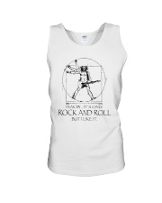 Only Rock And Roll Unisex Tank thumbnail