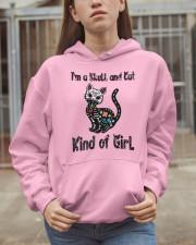 Skull And Cat Hooded Sweatshirt apparel-hooded-sweatshirt-lifestyle-07