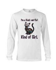 Skull And Cat Long Sleeve Tee thumbnail