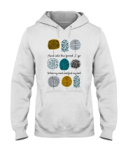 And Into The Forest I Go Hooded Sweatshirt thumbnail