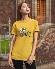 Flowers Love Sloths Classic T-Shirt apparel-classic-tshirt-lifestyle-06