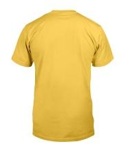 Flowers Love Sloths Classic T-Shirt back