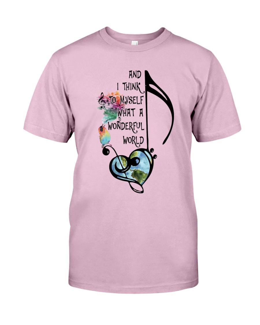 What A Wonderful World 4 Classic T-Shirt