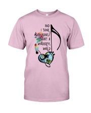 What A Wonderful World 4 Classic T-Shirt front