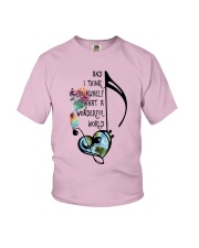 What A Wonderful World 4 Youth T-Shirt thumbnail