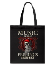Feelings Sound Like Tote Bag tile