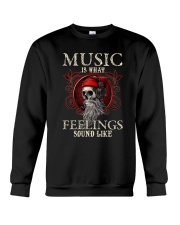 Feelings Sound Like Crewneck Sweatshirt tile