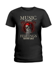 Feelings Sound Like Ladies T-Shirt tile