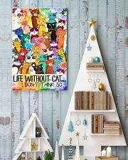 Life Without Cat 11x17 Poster lifestyle-holiday-poster-2