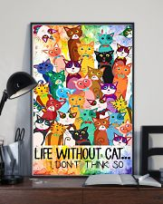 Life Without Cat 11x17 Poster lifestyle-poster-2