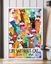 Life Without Cat 11x17 Poster lifestyle-poster-4
