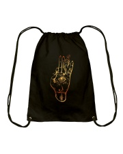 Love Cannabis Drawstring Bag thumbnail