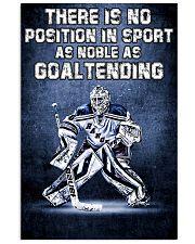 Goal Tending 11x17 Poster front