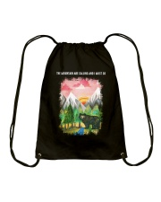 The Mountain Are Calling 2 Drawstring Bag tile