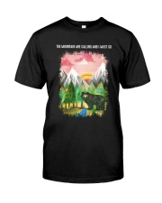 The Mountain Are Calling 2 Classic T-Shirt tile