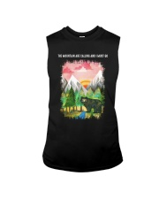 The Mountain Are Calling 2 Sleeveless Tee tile