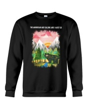 The Mountain Are Calling 2 Crewneck Sweatshirt thumbnail