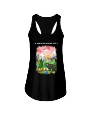 The Mountain Are Calling 2 Ladies Flowy Tank tile