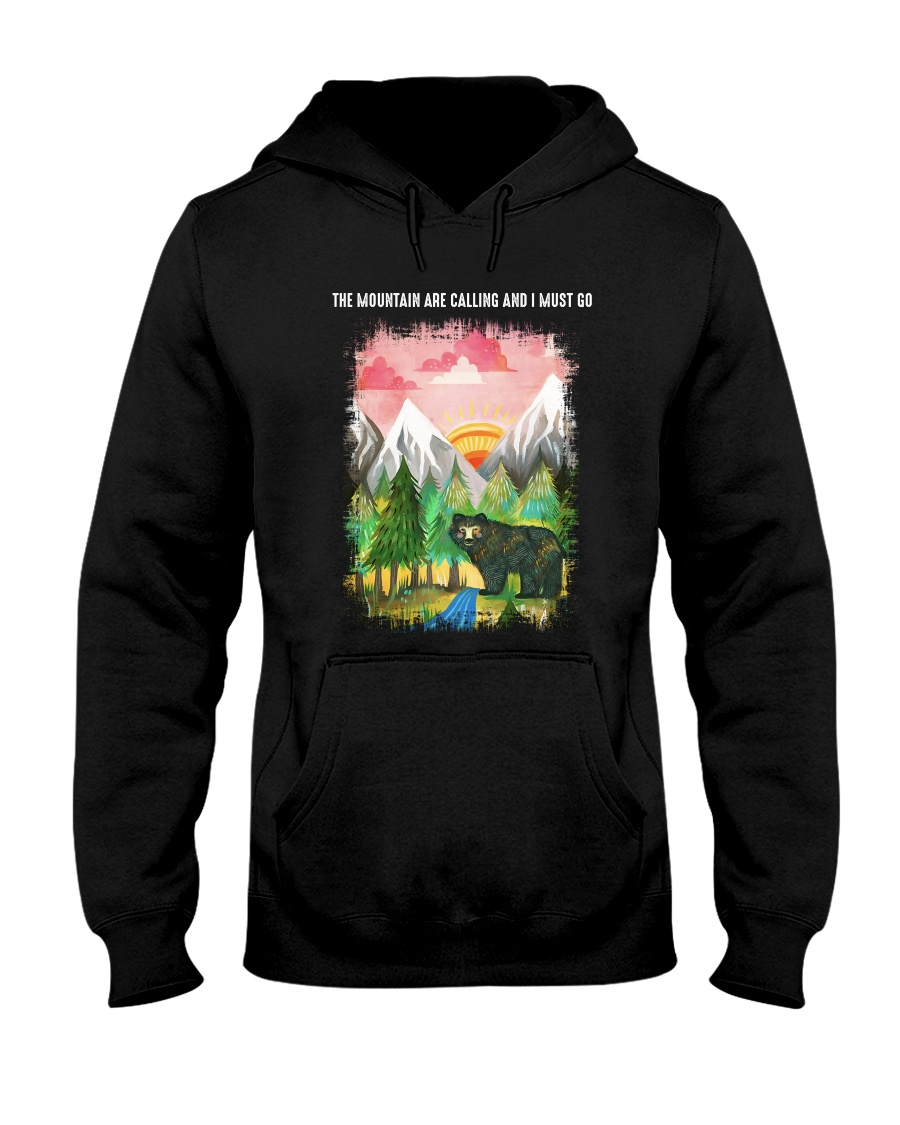 The Mountain Are Calling 2 Hooded Sweatshirt